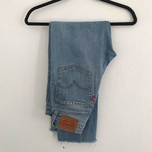 Levi's Wedgie Jean - perfectly worn in